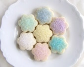 Cookies Vanilla Bean Shortbread 3 Dozen Mini Flower Blossoms