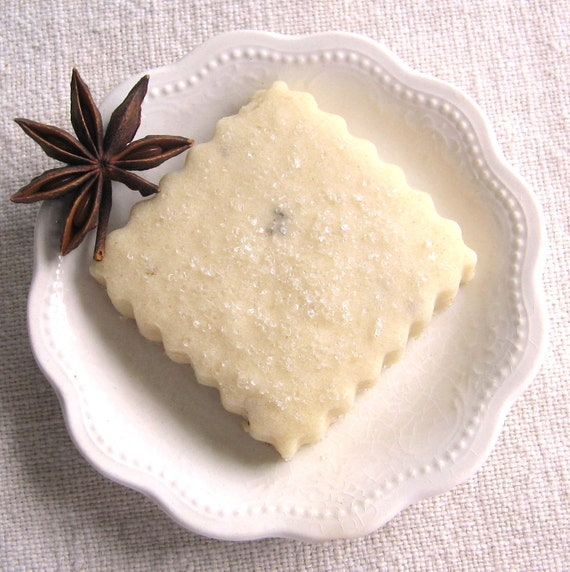 Items similar to Anise Shortbread Cookies 1 Dozen on Etsy
