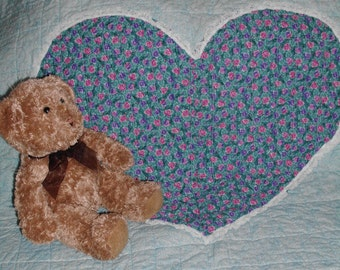 I Know You By Heart    -   Hand Crafted Baby Quilt