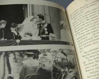 vintage Charles and Diana book, 1985, Princess Diana book, photographs, Royal Family England, English history book