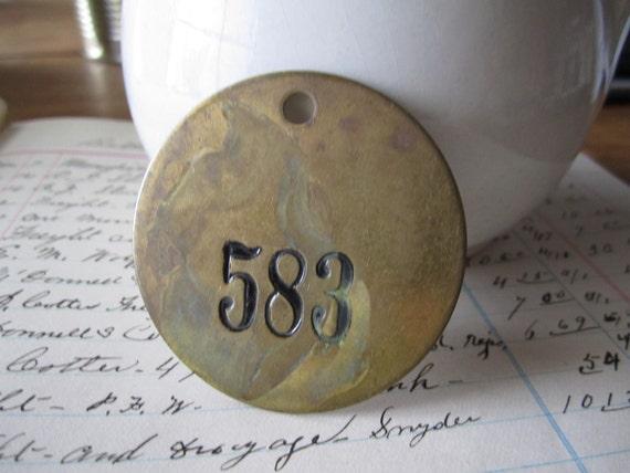 Brass Tag 583