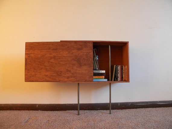 Recycled Wine Crate Sideboard - 'The Low Slide Johnny'