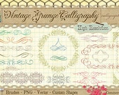 Calligraphy Borders & Ornaments No. 1