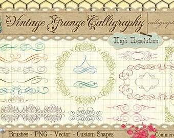 Calligraphy Borders & Ornaments No. 1