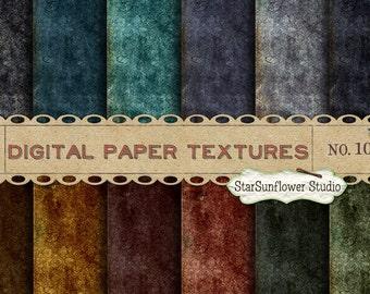 Digital Paper Textures Pack No 10 -  12x12