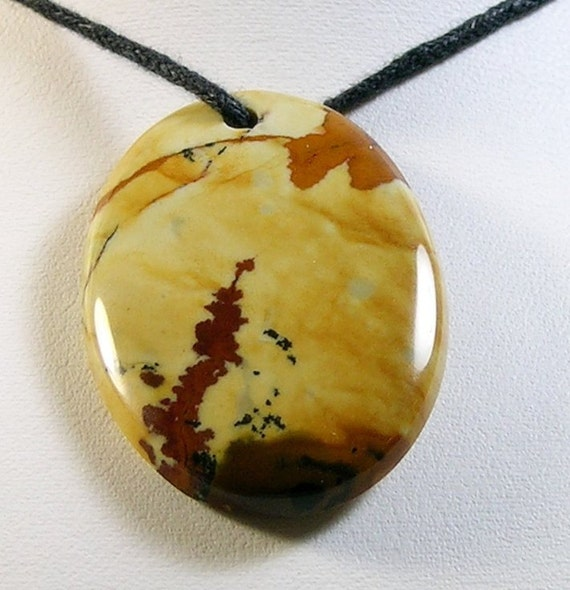 Rocky Butte Jasper Focal Bead