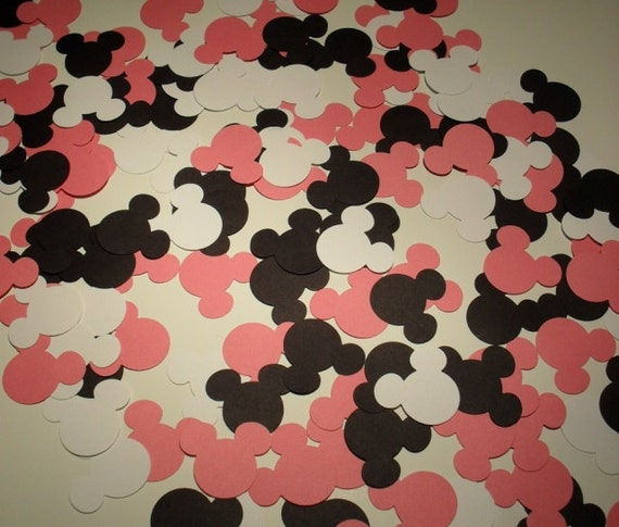 Minnie Mouse Mickey Mouse Birthday Party Confetti  150 pieces