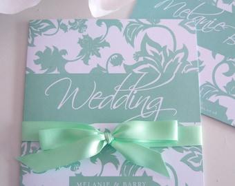 Mint Wedding Invite | Etsy