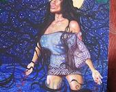 Sophia GICLEE print on canvas Xmas FREE SHIPPING