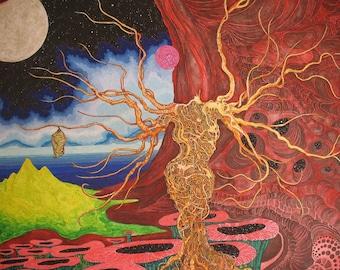 Metamorphosis GICLEE on canvas FREE SHIPPING