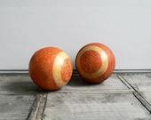 VINTAGE ///// Wooden Balls, Set of 2