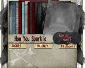 How You Sparkle Digital Paper Kit