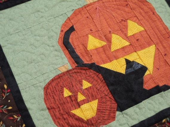 Halloween Pumpkin Wall Hanging