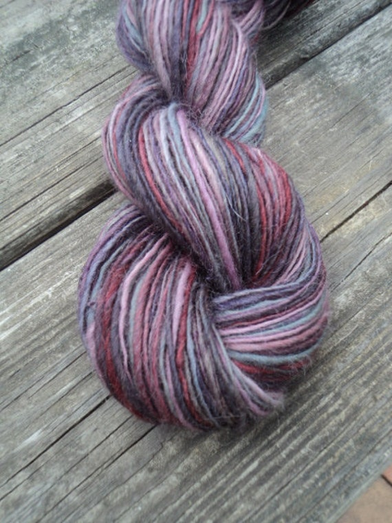 One day sale, 12/1, 30% off, Hand Spun, Single Ply, Wool, 150 yards