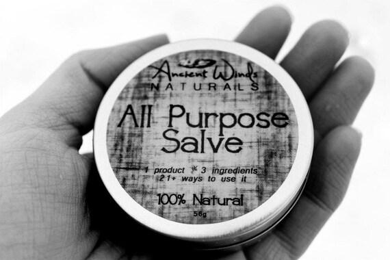100% Natural All Purpose Salve. Ancient Winds Naturals.