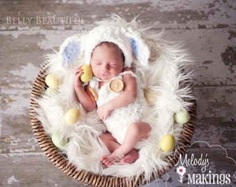 Baby Sheep Crochet Pattern - Baby Lamb Crochet Pattern - Baby Animal Hat Crochet Pattern - Baby Animal Costume Crochet Pattern
