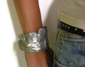 Roman slave cuff Ethnic silver style wire wrapped bracelet tt team reserved for Alessia