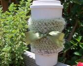 Sage Green Coffee Cozy