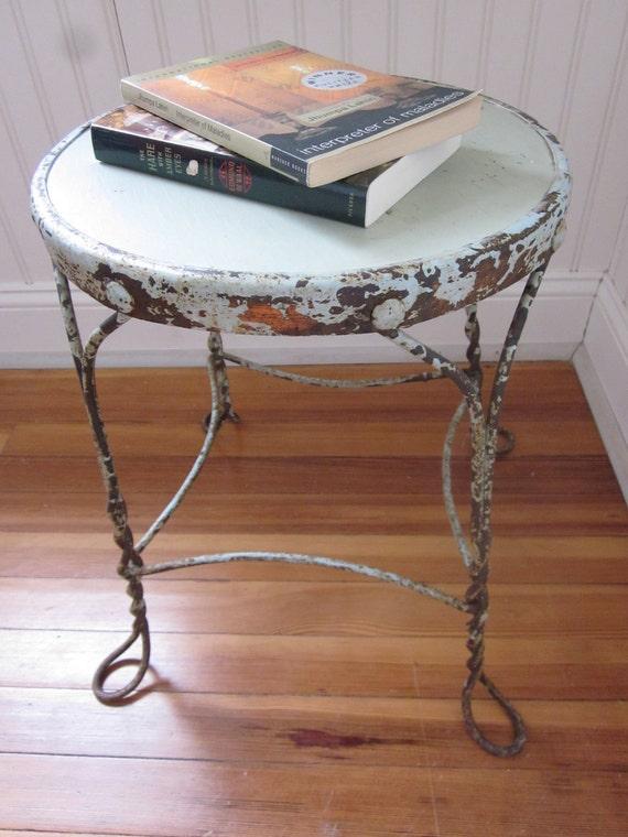 SALE Vintage ice cream parlor chair / stool