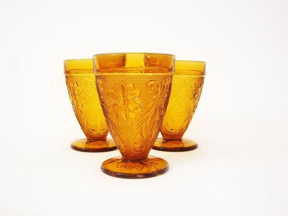 Vintage Indiana Glass Goblets