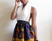 Tribal Summer Dance Halter Dress