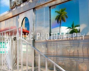 8x10/8x12 Photograph—'Retro Diner' (Miami, USA)