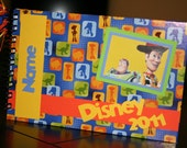 Personalized Disney Autograph Book- Toy Story Buzz & Woody