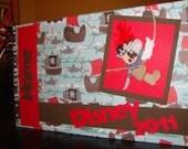 Personalized Disney Autograph Book- Mickey Pirate