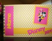 Personalized Disney Autograph Book - Minnie Mouse