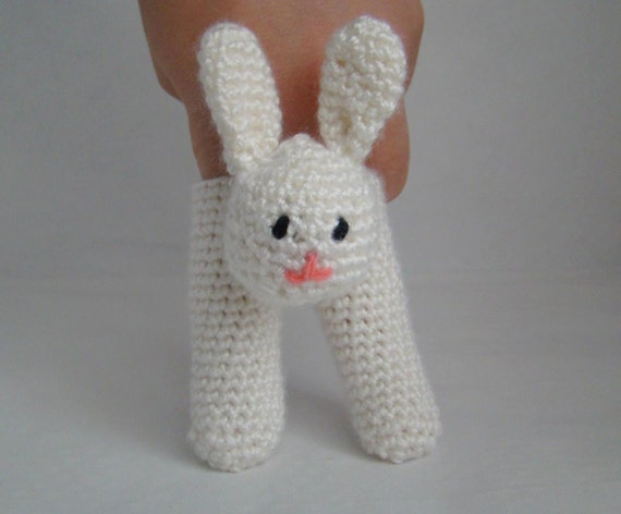 Two Finger Bunny Puppet