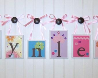 Name Blocks . Routed Edge Blocks . Nursery Name Blocks . Nursery Decor . Baby Name Blocks . Hanging Name Blocks . Bedding . M2M PBK Coco Dot