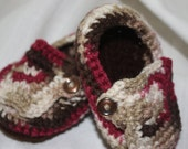 Baby Loafers, Varigated Colors, Choose Your Size, Photography Prop
