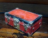 Old Salesman Sample Trunk Very Rare and Very Cool Display