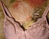 SALE: Vintage Cotton Candy Pink Lace Bodysuit (So Sweet)