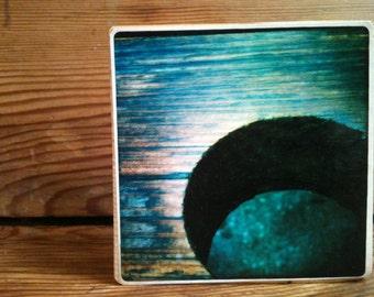 "Table Hole Photo Block 4"" X 4"""