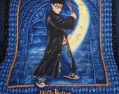 Handmade Harry Potter Quilt Blanket or Throw