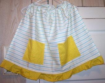 Retro, Fun, and Vintage Fabric Half Apron