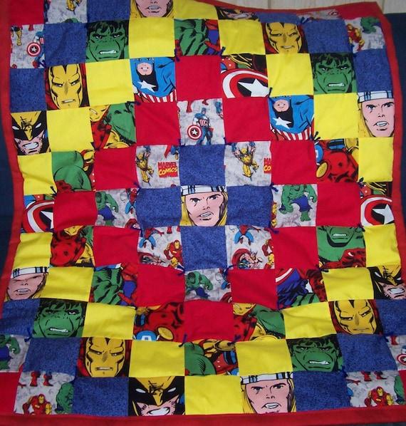 RENEE's Custom Made Avengers Quilt