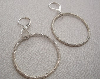 Gwen Earrings - Silver