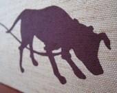 Dog Walking : Handmade Silkscreen Accordion Book