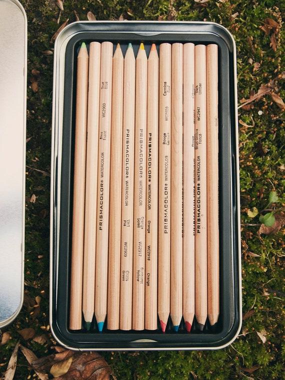 12 Prismacolor Watercolor Pencils