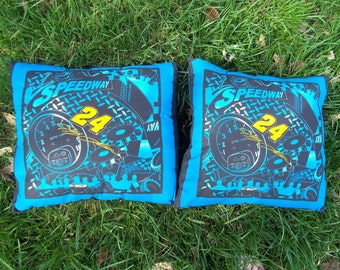 Two Nascar Pillows
