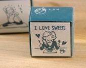 Kodomo No Kao I Love Sweets Stamp
