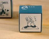 Kodomo No Kao Yoga Girl Stamp