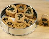 Kodomo No Kao Sweet Shop Stamp Set