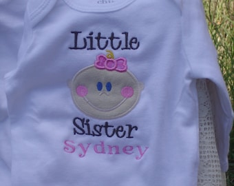 Little Sister - Embroidered Shirt