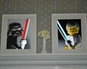 8X10 Luke vs. Vader Glamour Shots