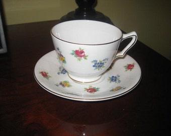 Royal Victoria Bone China Teacup and Saucer