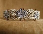 Macrame Softwood Meadow Bracelet