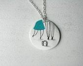 Necklace - Bye, bye